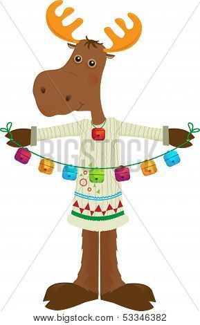 Holiday Moose Icon