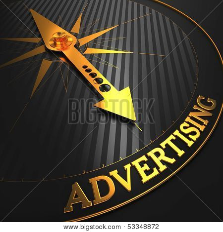 Advertising. Business Background.