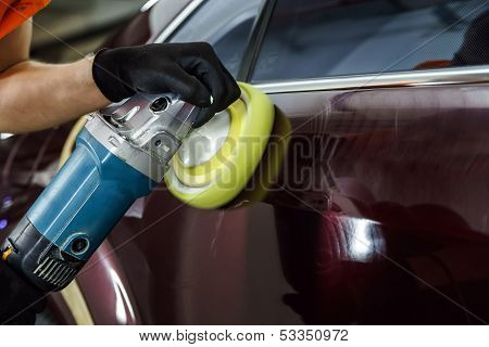Car Surface Buffing