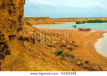 Bay And Barren Landscape