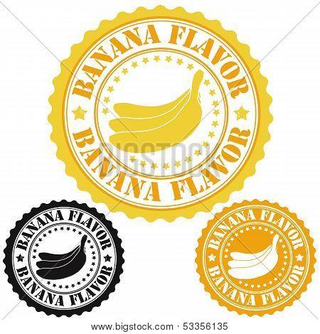 Banana Flavor Stamps