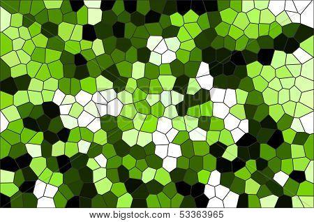 Colorful Glass Mosaic