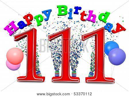 Happy 111Th Birthday