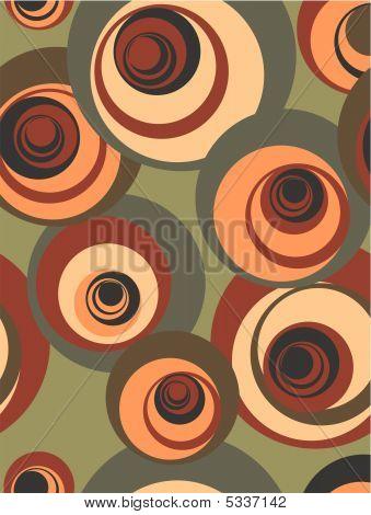 Retro Circle Pattern