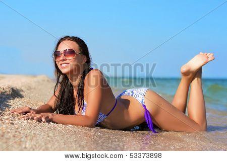 Pretty Joyful Woman