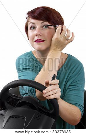 Make Up While Driving