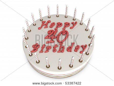 Cream Pie For 40Th Birthday