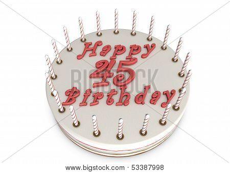 Cream Pie For 45Th Birthday