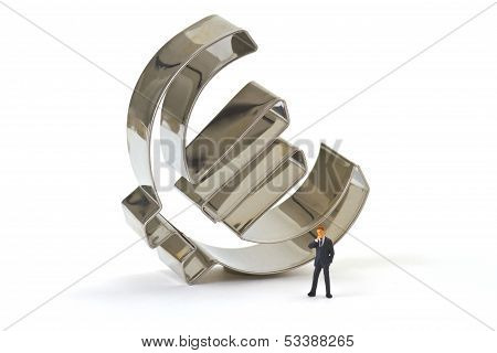 Manager With Euro Symbol