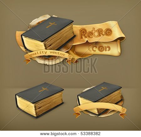 Bible, vector icon