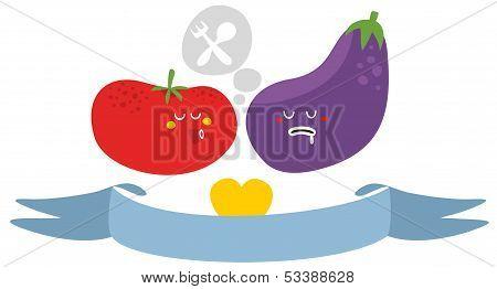 Freaky vegetables.