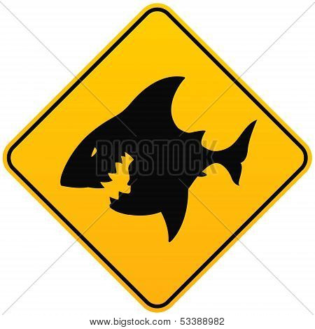 Shark Sighting Sign