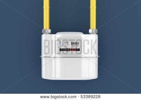 Home gas meter