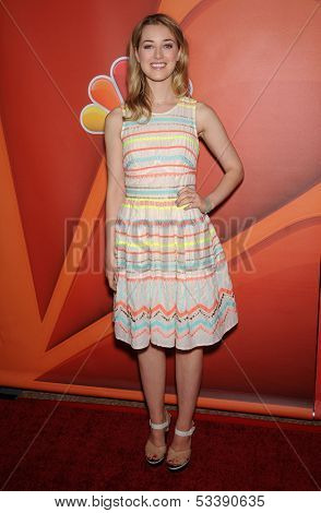 LOS ANGELES - AUG 27:  Ella Rae Peck arrives to NBC All Star Summer TCA Party 2013  on July 27, 2013 in Beverly Hills, CA