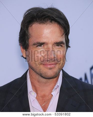 LOS ANGELES - AUG 08:  Matthew Settle arrives to