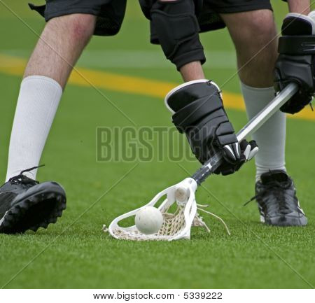 Boys Lacrosse Ball Scoop