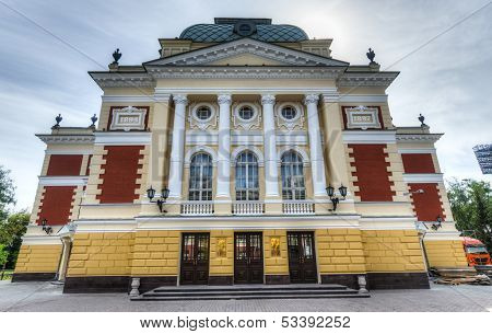 Okhlopkov Drama Theatre In Irkutsk, Russia