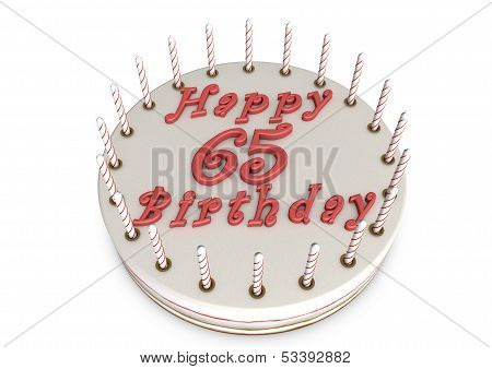 Cream Pie For 65Th Birthday