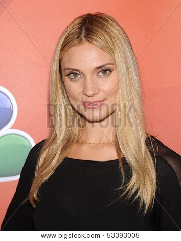 LOS ANGELES - AUG 27:  Spencer Grammer arrives to NBC All Star Summer TCA Party 2013  on July 27, 2013 in Beverly Hills, CA