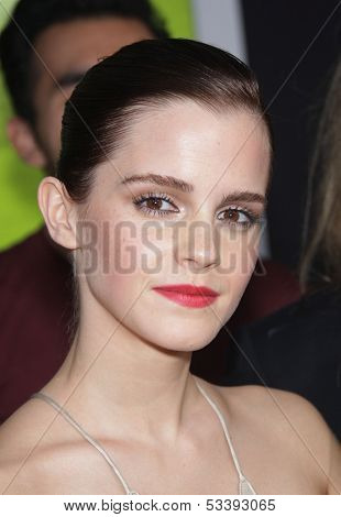 LOS ANGELES - SEP 10:  Emma Watson arrives to the