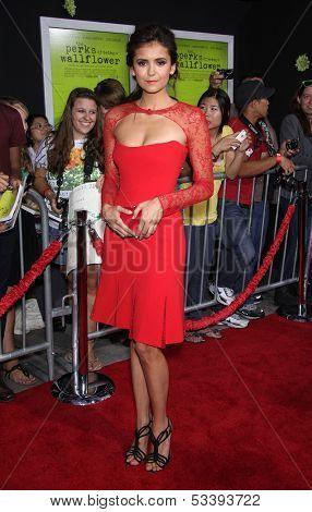 LOS ANGELES - SEP 10:  Nina Dobrev arrives to the