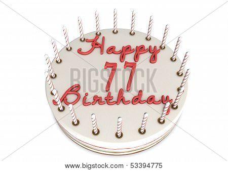 Cream Pie For 77Th Birthday