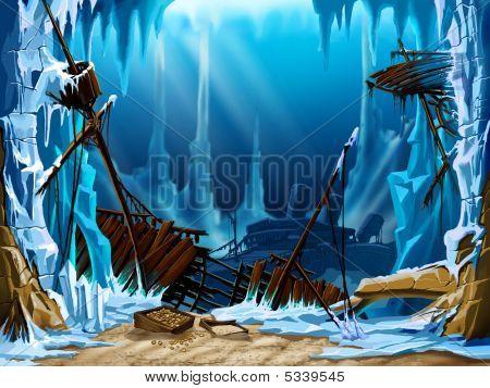 Ice Underwater
