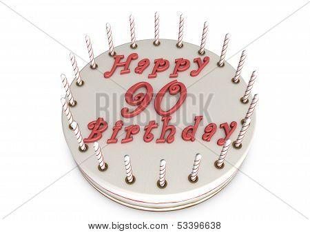 Cream Pie For 90Th Birthday