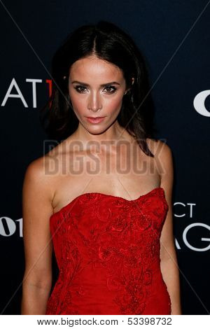 NEW YORK- OCT 24: Actress Abigail Spencer attends the premiere of Canon's 'Project Imaginat10n' Film Festival at Alice Tully Hall at Lincoln Center on October 24, 2013 in New York City.