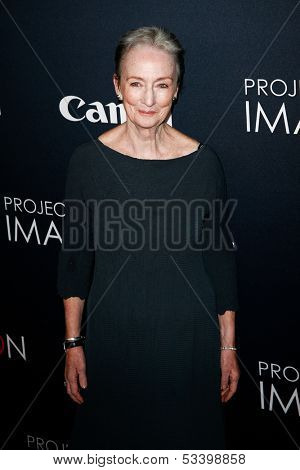 NEW YORK- OCT 24: Actress Kathleen Chalfant attends the premiere of Canon's 'Project Imaginat10n' Film Festival at Alice Tully Hall at Lincoln Center on October 24, 2013 in New York City.