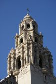 Balboa Park Bell Tower In San Diego