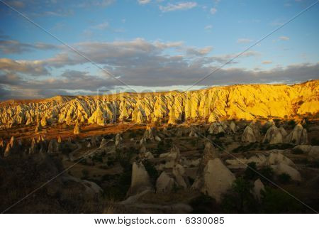 Light And Shade Cappadocia View