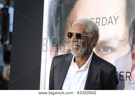 LOS ANGELES - APR 10:  Morgan Freeman at the