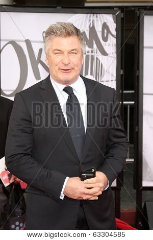 LOS ANGELES - APR 10:  Alec Baldwin at the