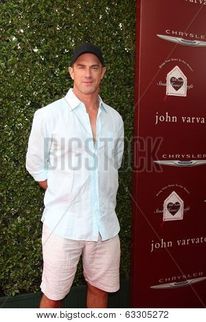 LOS ANGELES - APR 13:  Christopher Meloni at the John Varvatos 11th Annual Stuart House Benefit at  John Varvatos Boutique on April 13, 2014 in West Hollywood, CA
