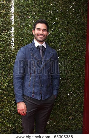 LOS ANGELES - APR 13:  Tyler Hoechlin at the John Varvatos 11th Annual Stuart House Benefit at  John Varvatos Boutique on April 13, 2014 in West Hollywood, CA