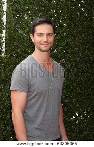 LOS ANGELES - APR 13:  Jason Behr at the John Varvatos 11th Annual Stuart House Benefit at  John Varvatos Boutique on April 13, 2014 in West Hollywood, CA
