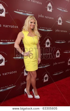 LOS ANGELES - APR 13:  Jessica Simpson at the John Varvatos 11th Annual Stuart House Benefit at  John Varvatos Boutique on April 13, 2014 in West Hollywood, CA