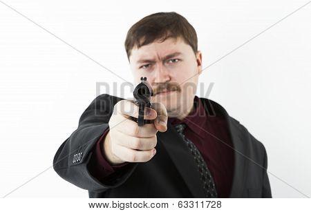 Man Aiming At You
