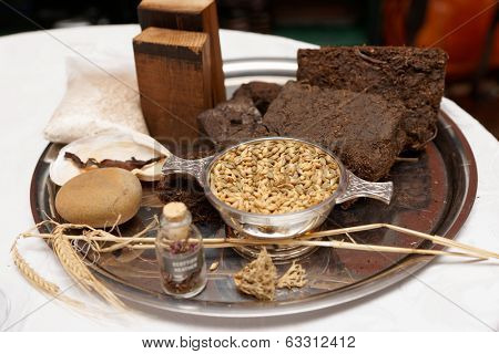 Whisky taste components - turf, heather, oats etc