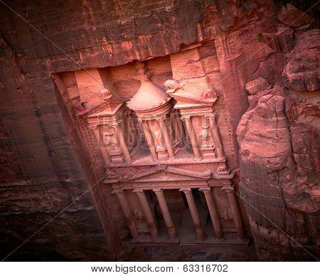 Al Khazneh. Petra, Jordan