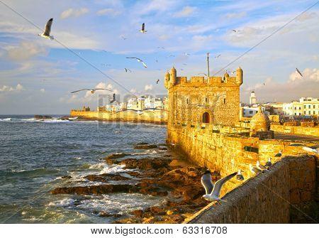 Essaouira Fortress, Morocco, Africa