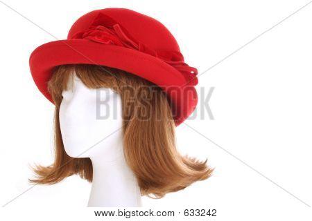 Ladies Red Hat