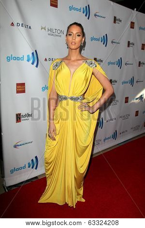 LOS ANGELES - APR 12:  Carmen Carrera at the GLAAD Media Awards at Beverly Hilton Hotel on April 12, 2014 in Beverly Hills, CA