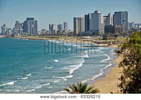 The Tel Aviv Sky Line