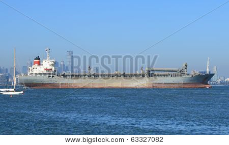 Tanker in Melbourne