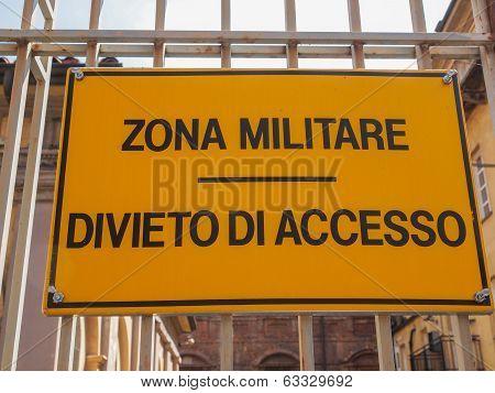 Militare Zone