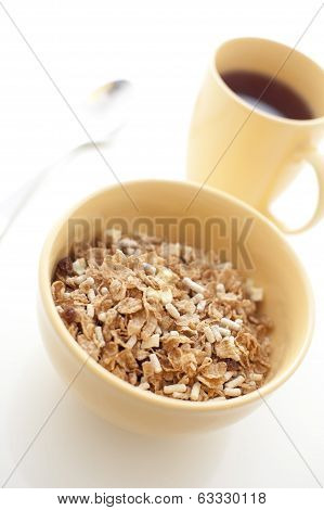 Breakfast Cereal And Coffee