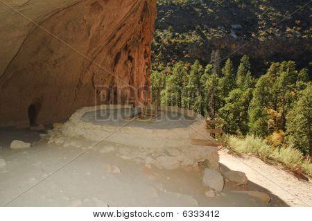 Ancient Indian Dwelling -kiva