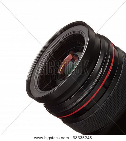 lens of the photo
